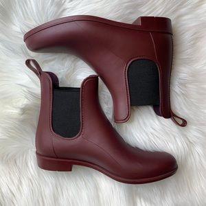 J Crew Chelsea Rain Boots